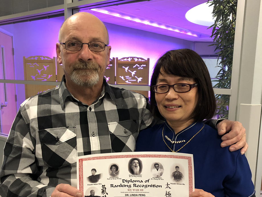 Dr. Linda Peng MD.  Certified Level 1 Taiji and Qigong Instructor  Erie, Pennsylvania