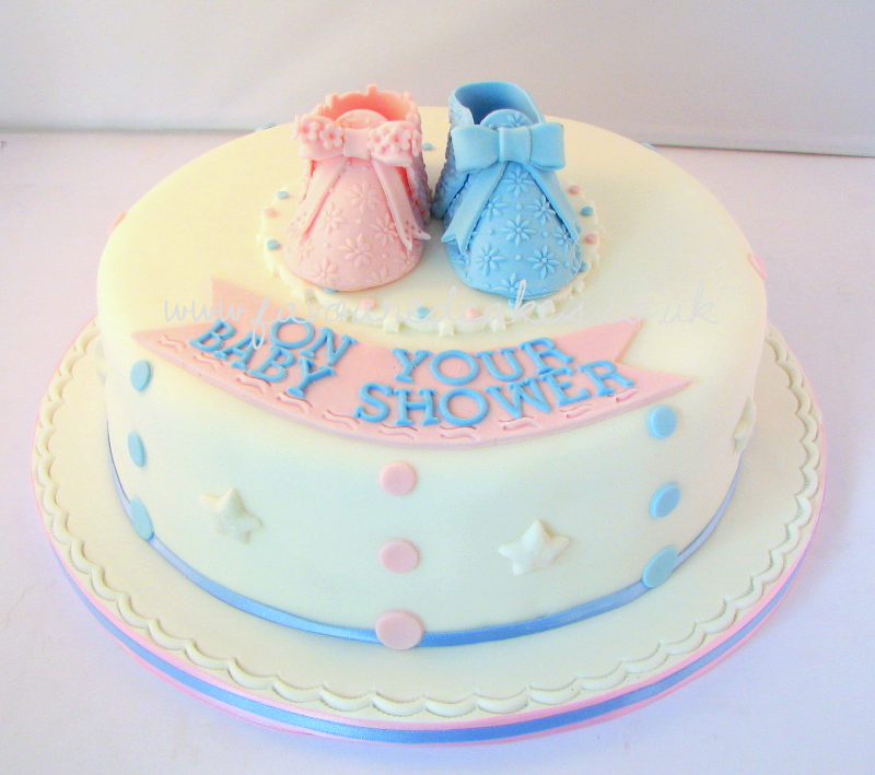 Baby Booty Baby Shower Cake BS3
