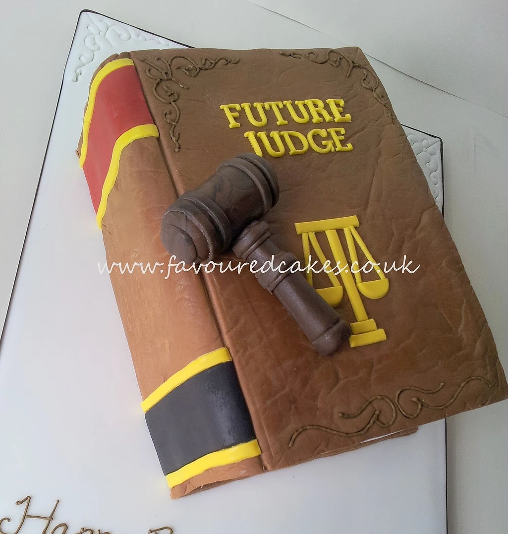 Lawyer Book and Gavel LB01