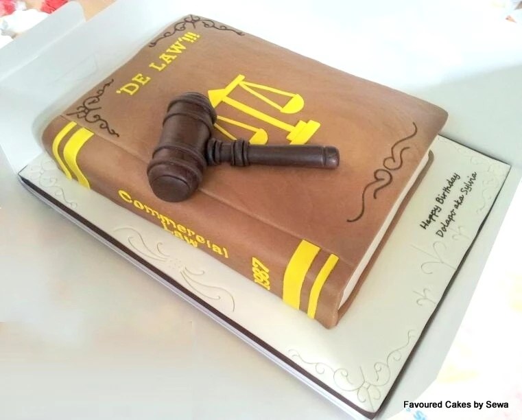 Lawyer Book and Gavel LB02