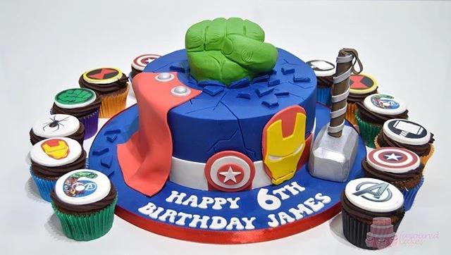 Avengers 1T Cake