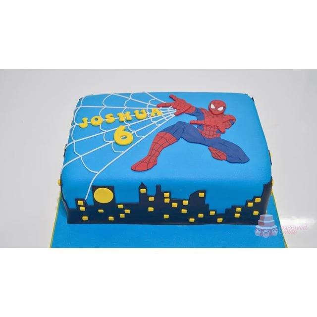 Spider-Man Cake SM3