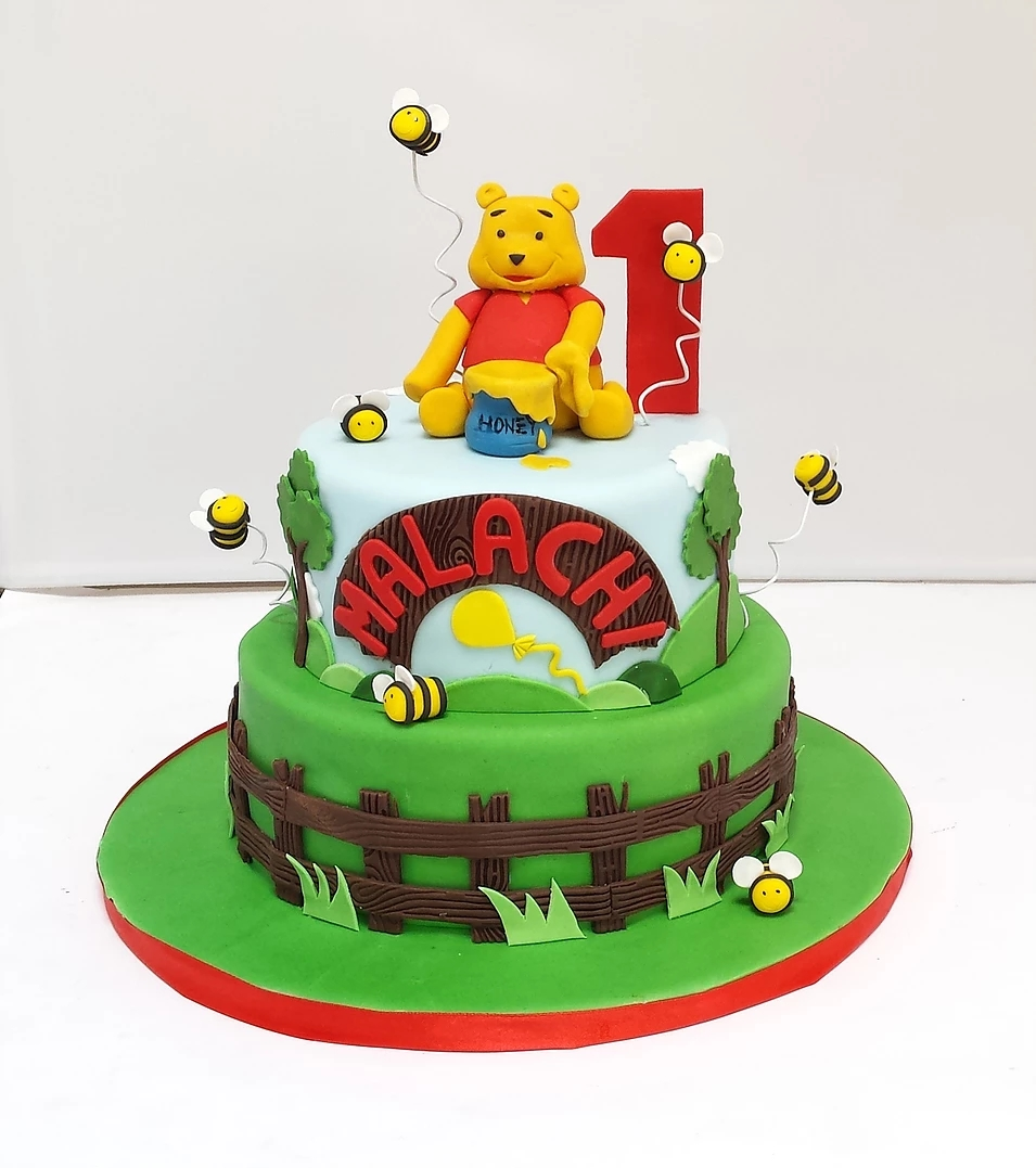 Winnie the Pooh Cake WP01