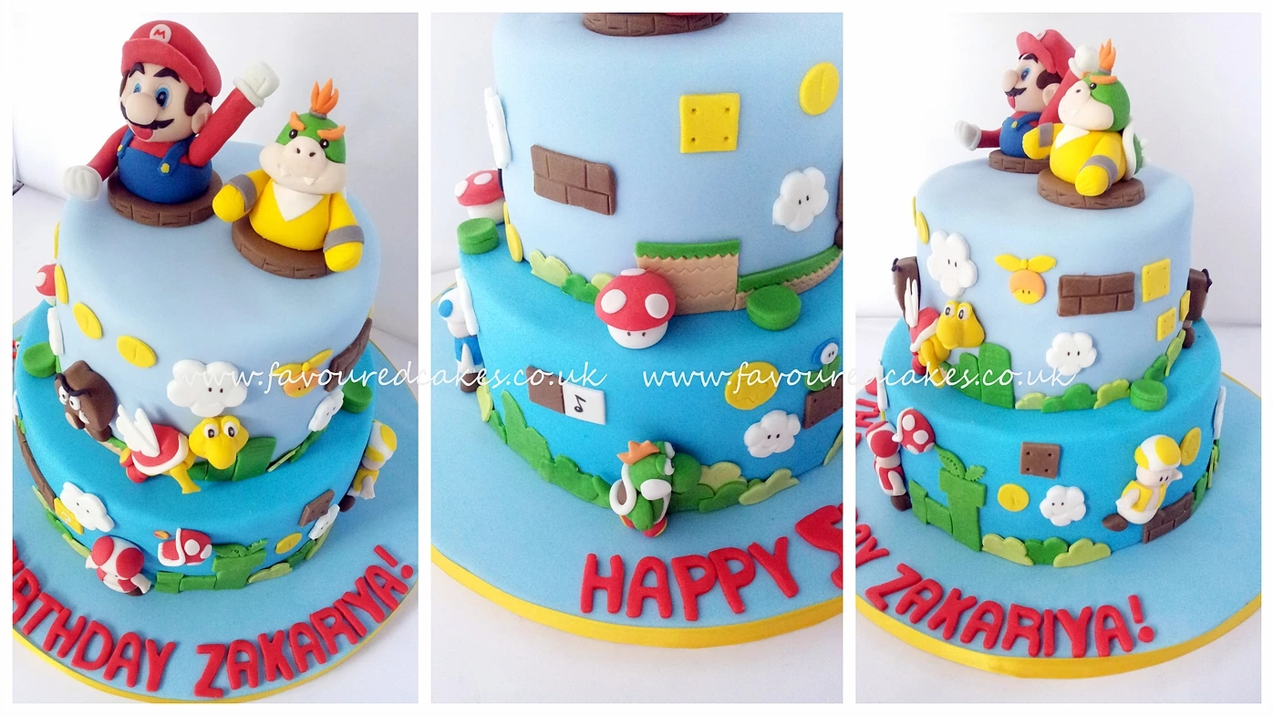 Super Mario Cake SM01