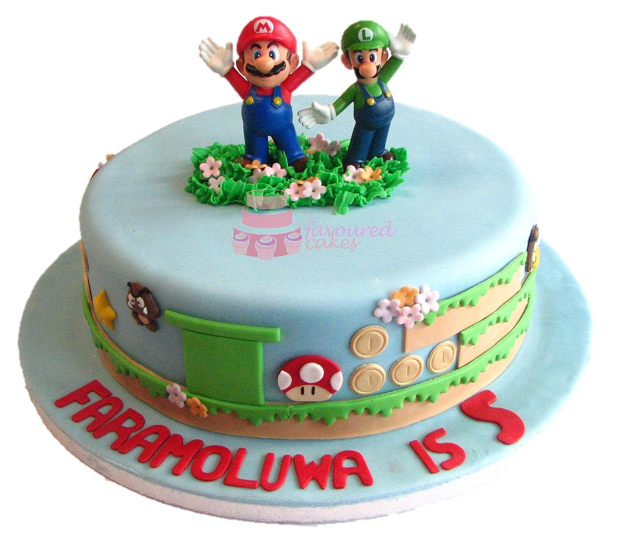 Super Mario Cake ML01