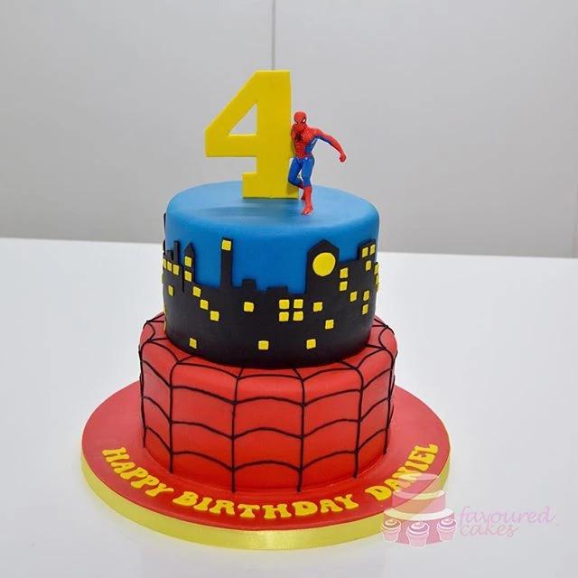 Spider-Man Cake SM2