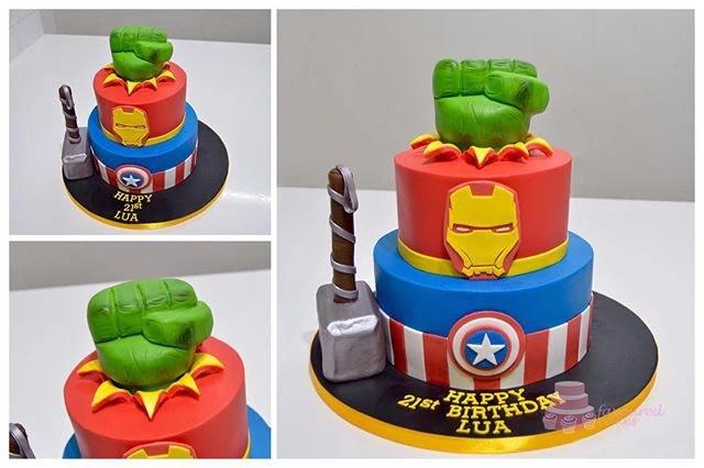 Avengers 2T Cake