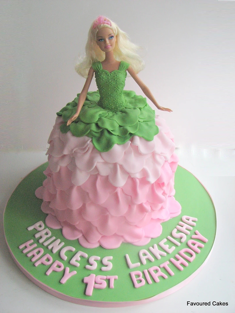 Princess Barbie Doll Cake PR03
