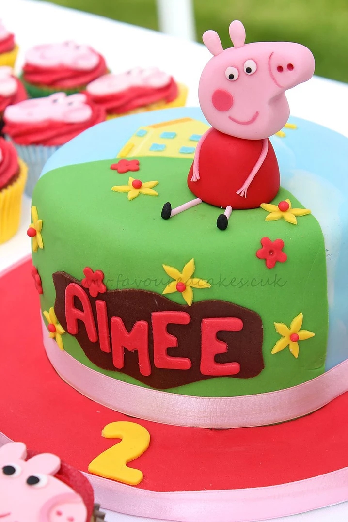 Peppa Pig Cake PP02