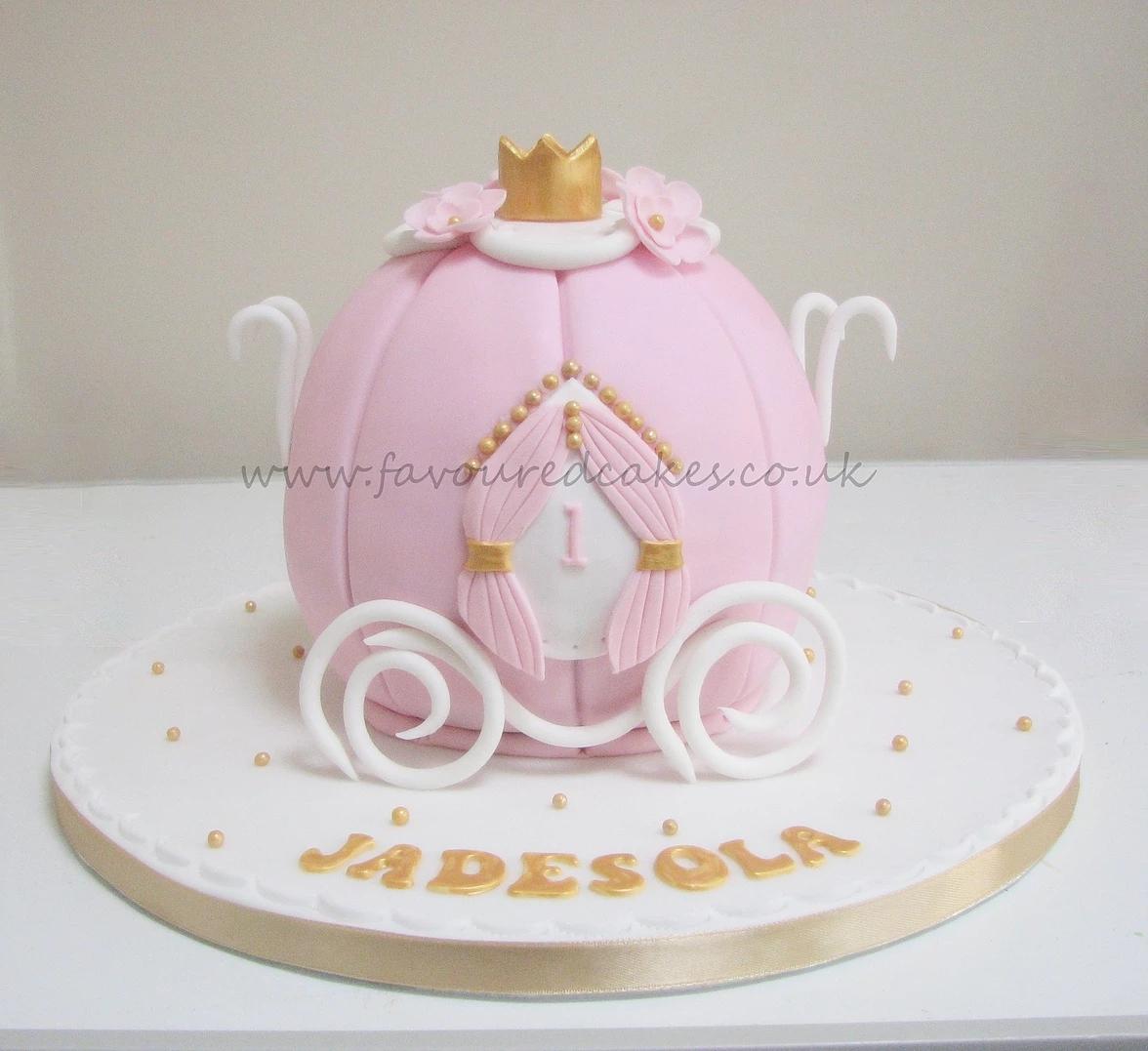 Princess Carriage Cake PR01