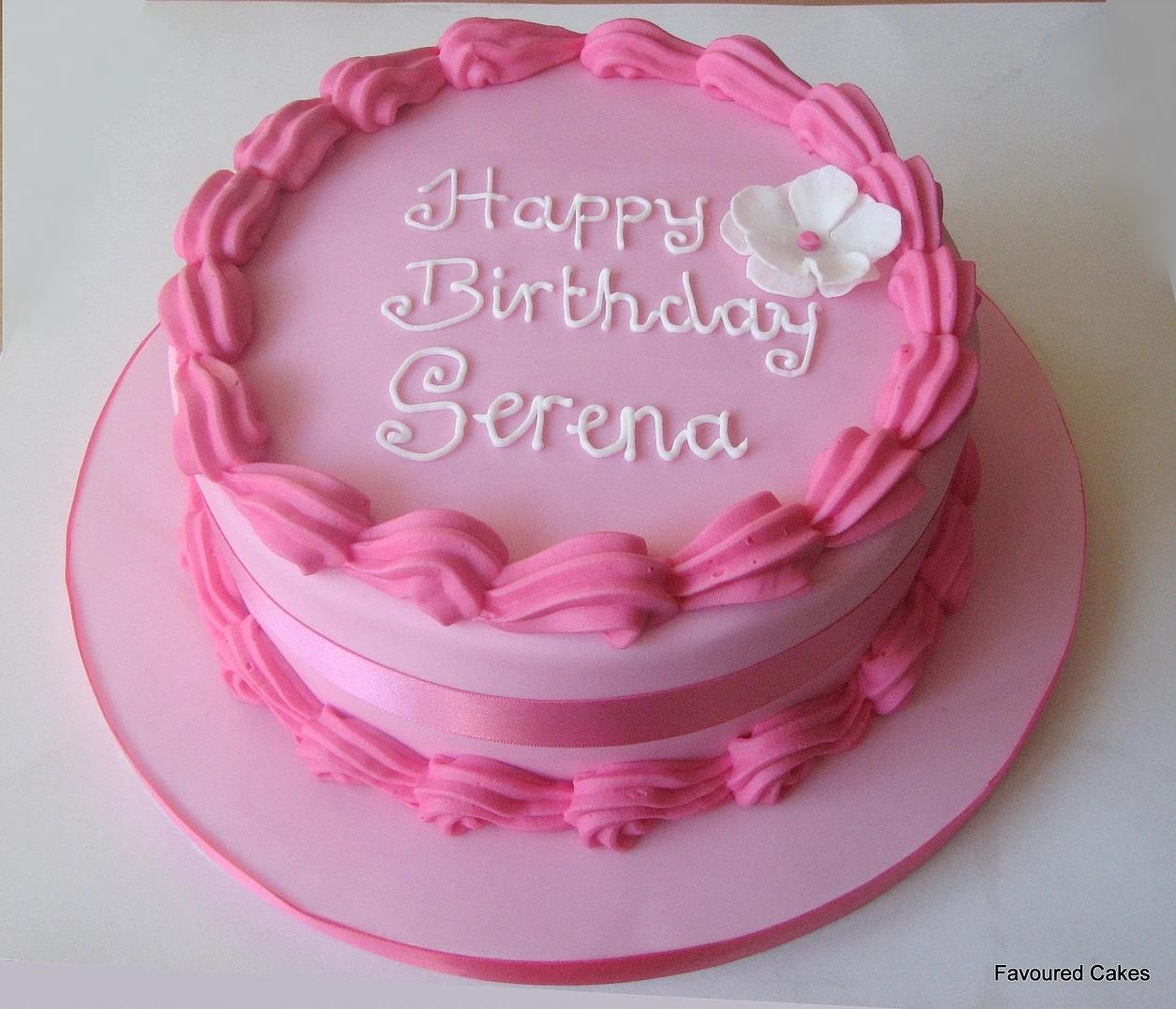 Pink Birthday Cake CC04
