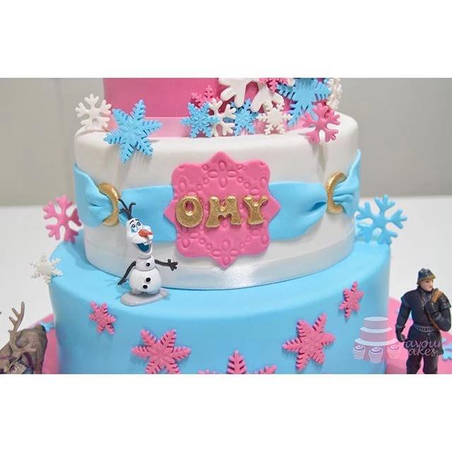 Disney Frozen Elsa Cake PP06