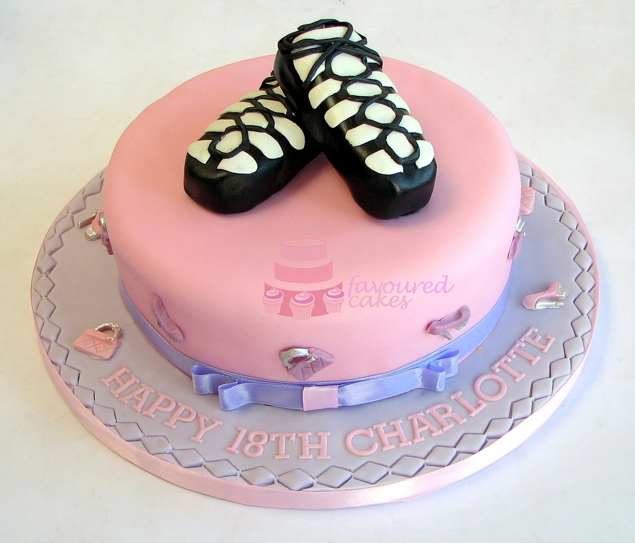 Irish Dance Shoes Cake SH01