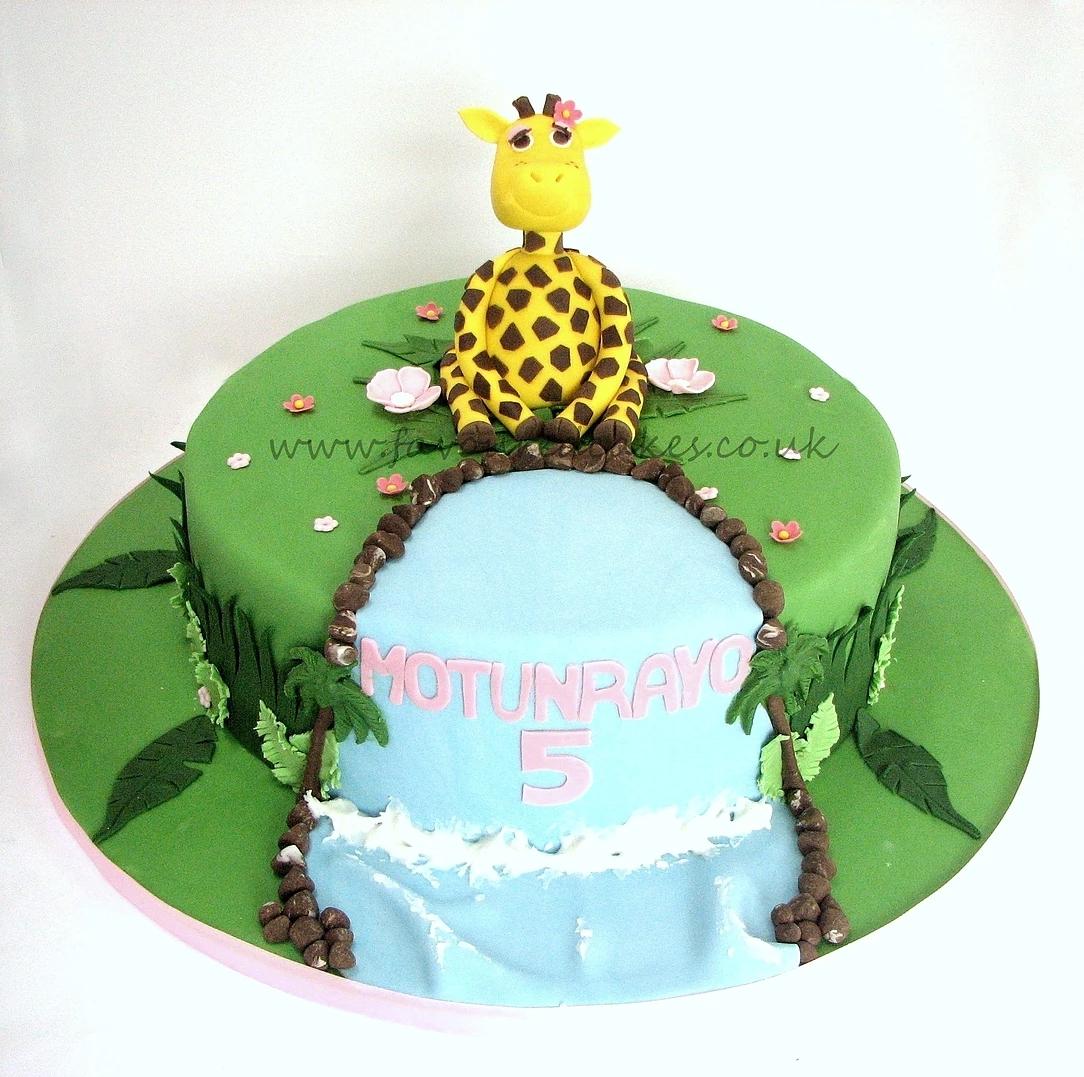 Giraffe Jungle Cake JC01