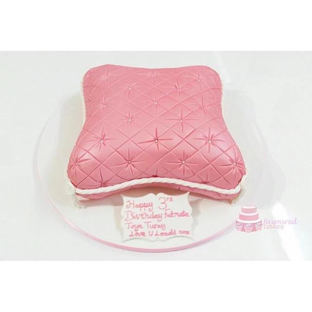 Cushion Pillow Cake