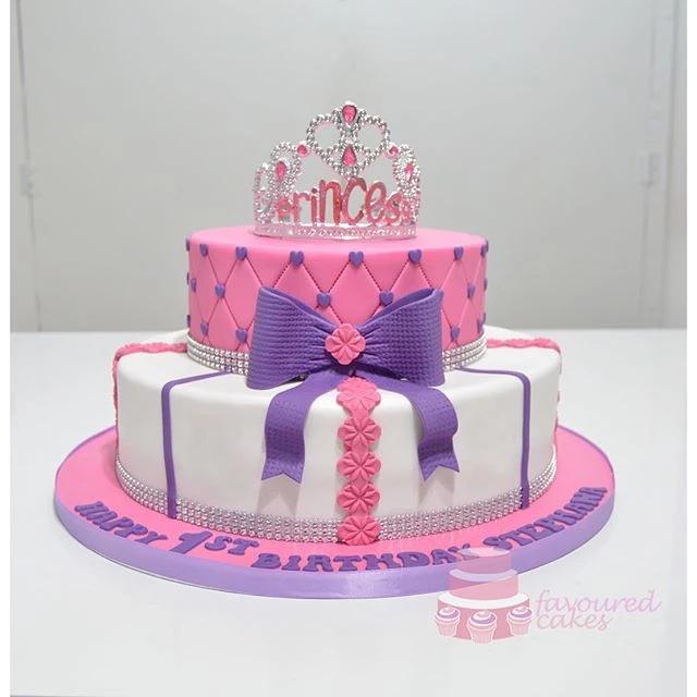 Princess Tiara Cake PP07