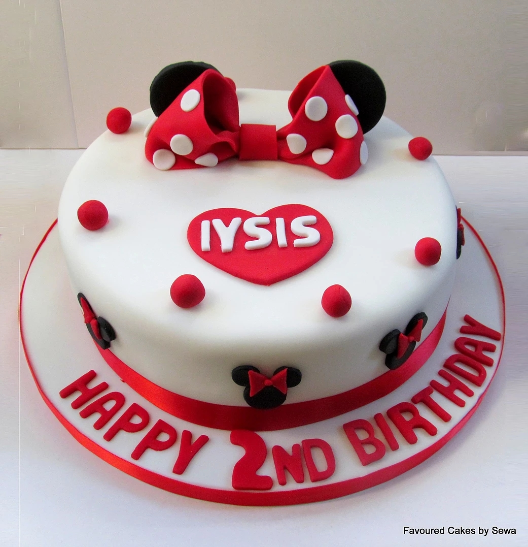 Minnie Mouse Cake MM08