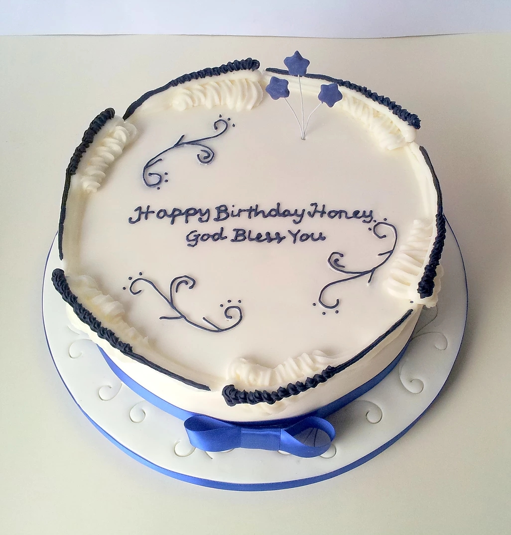 Scrolls Birthday Cake