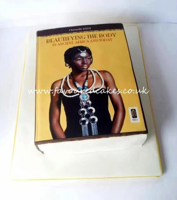 Christelle KEDI Book Launch Cake