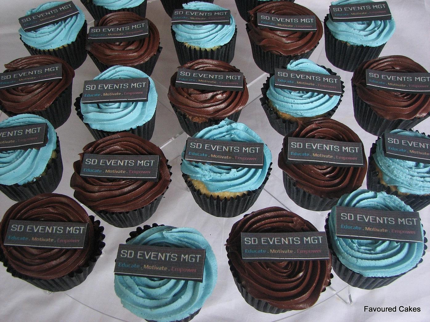 SD Events Logo Cupcakes