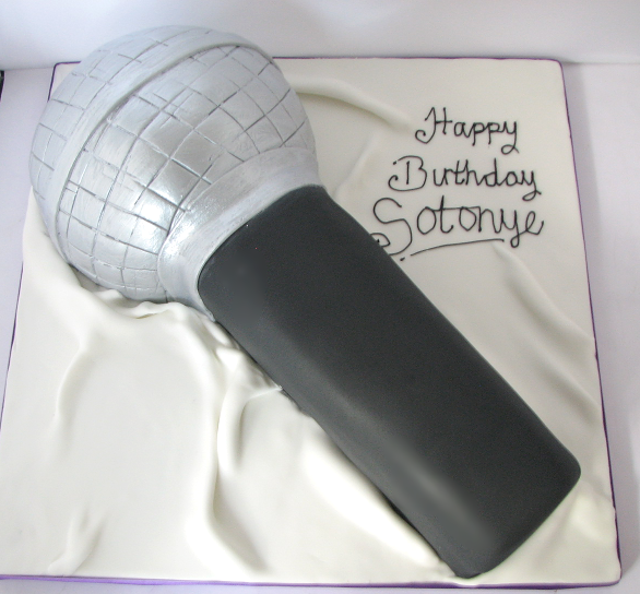 Microphone Cake MC01