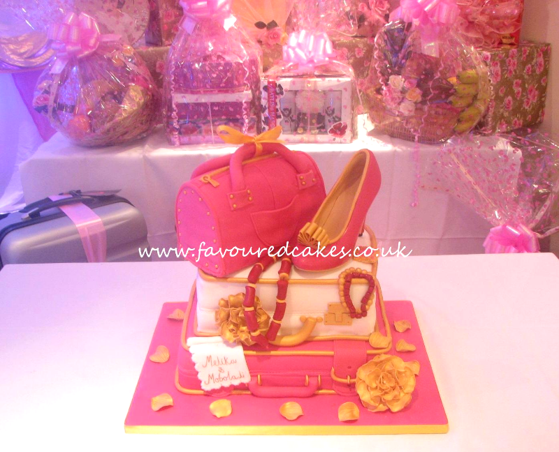 Shoe Bag & Suitcase Cake SH03 DIOR Shoe Cake SC04