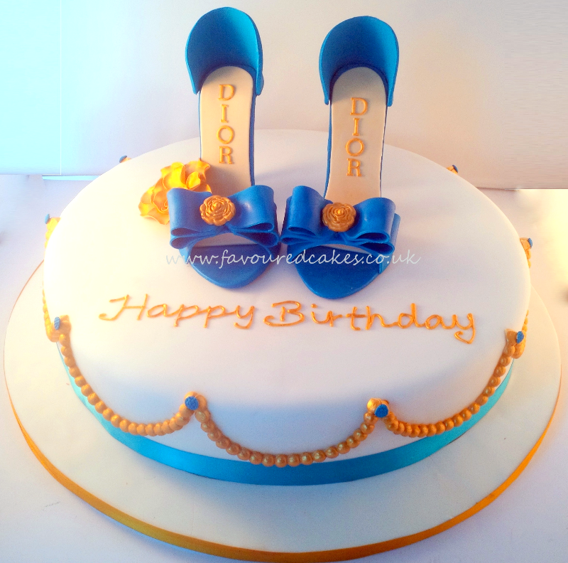 DIOR Shoe Cake SC04 DIOR Shoe Cake SH04