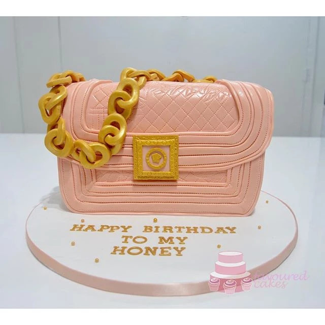 Versace Quilted Bag Cake VB02