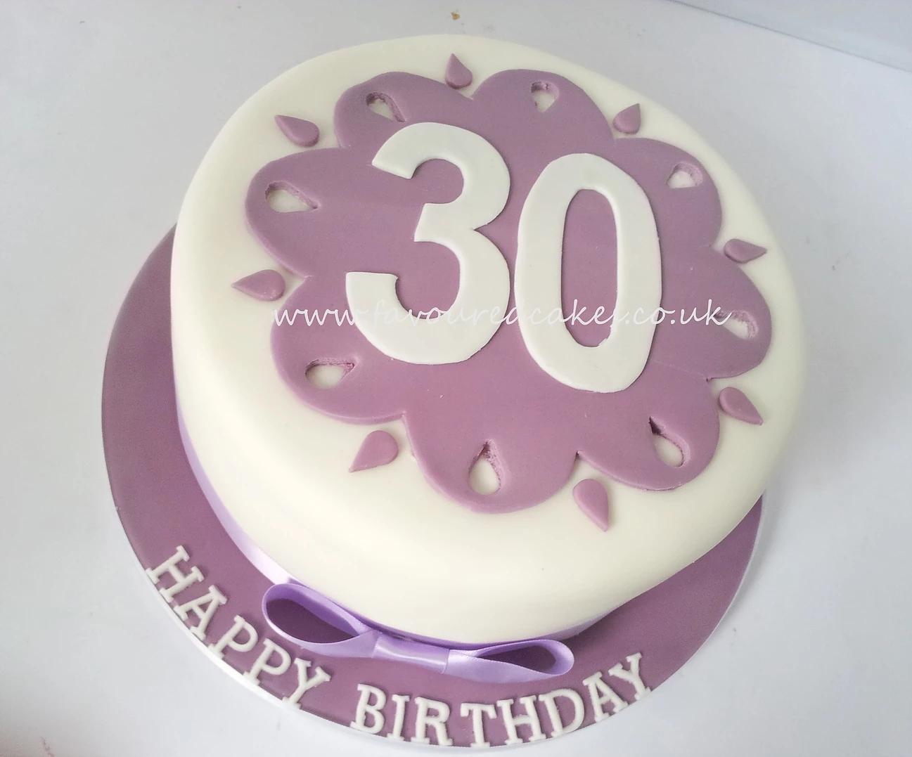 30 number cake