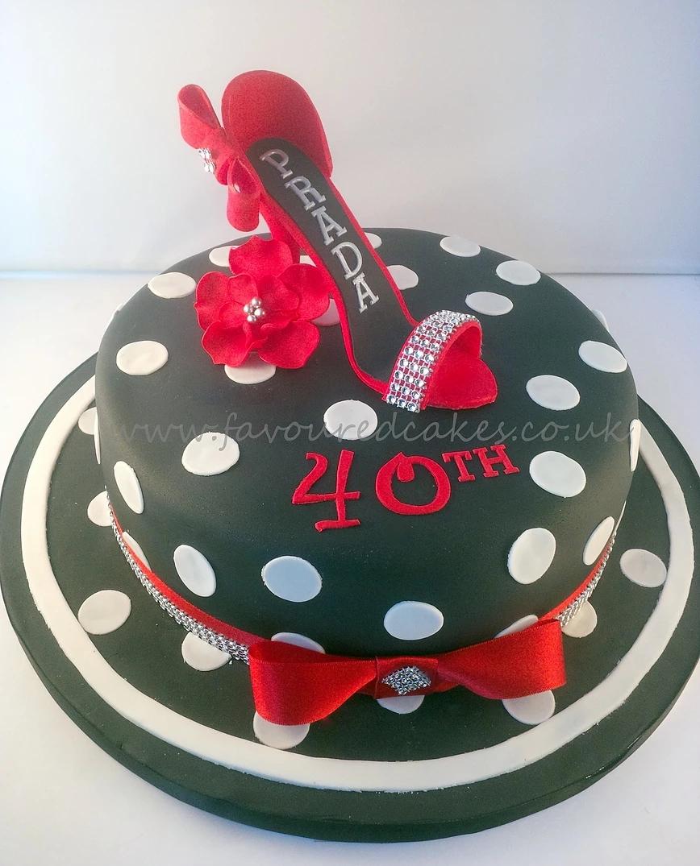 Prada Shoe & Hat Cake SH06 Prada Shoe & Hat Cake SH06