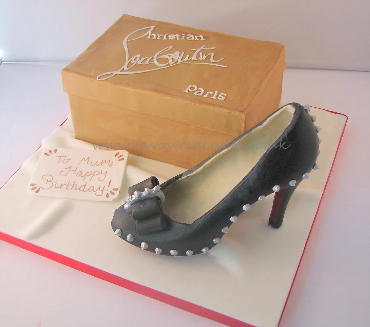 Louboutin Shoe Box Cake SH05 Louboutin Shoe Box Cake SH05