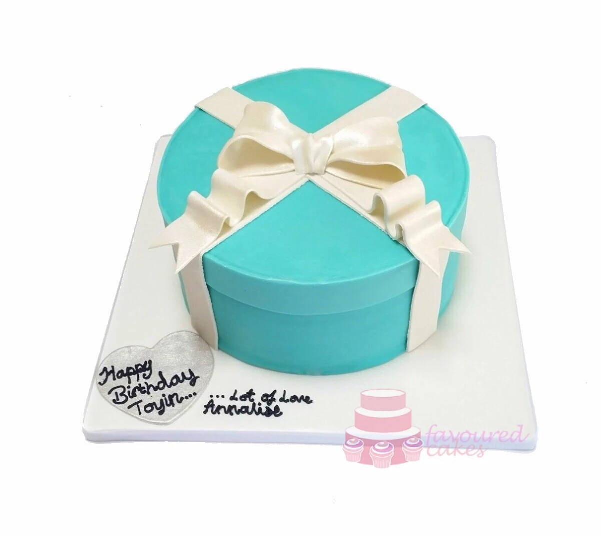 Tiffany Box Cake TF01