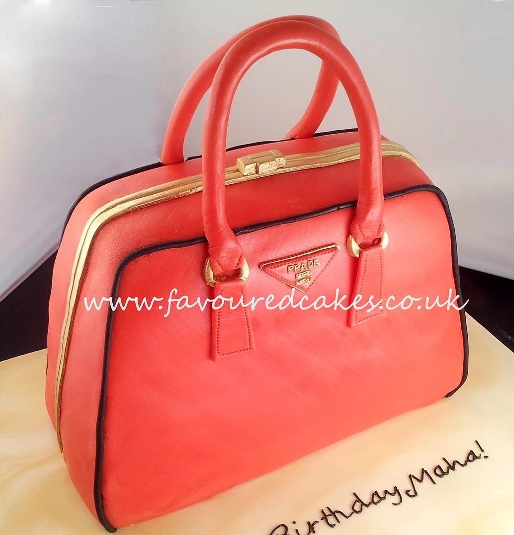 PRADA Handbag Cake