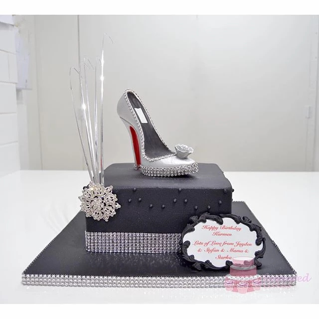 Glamour Shoe Cake