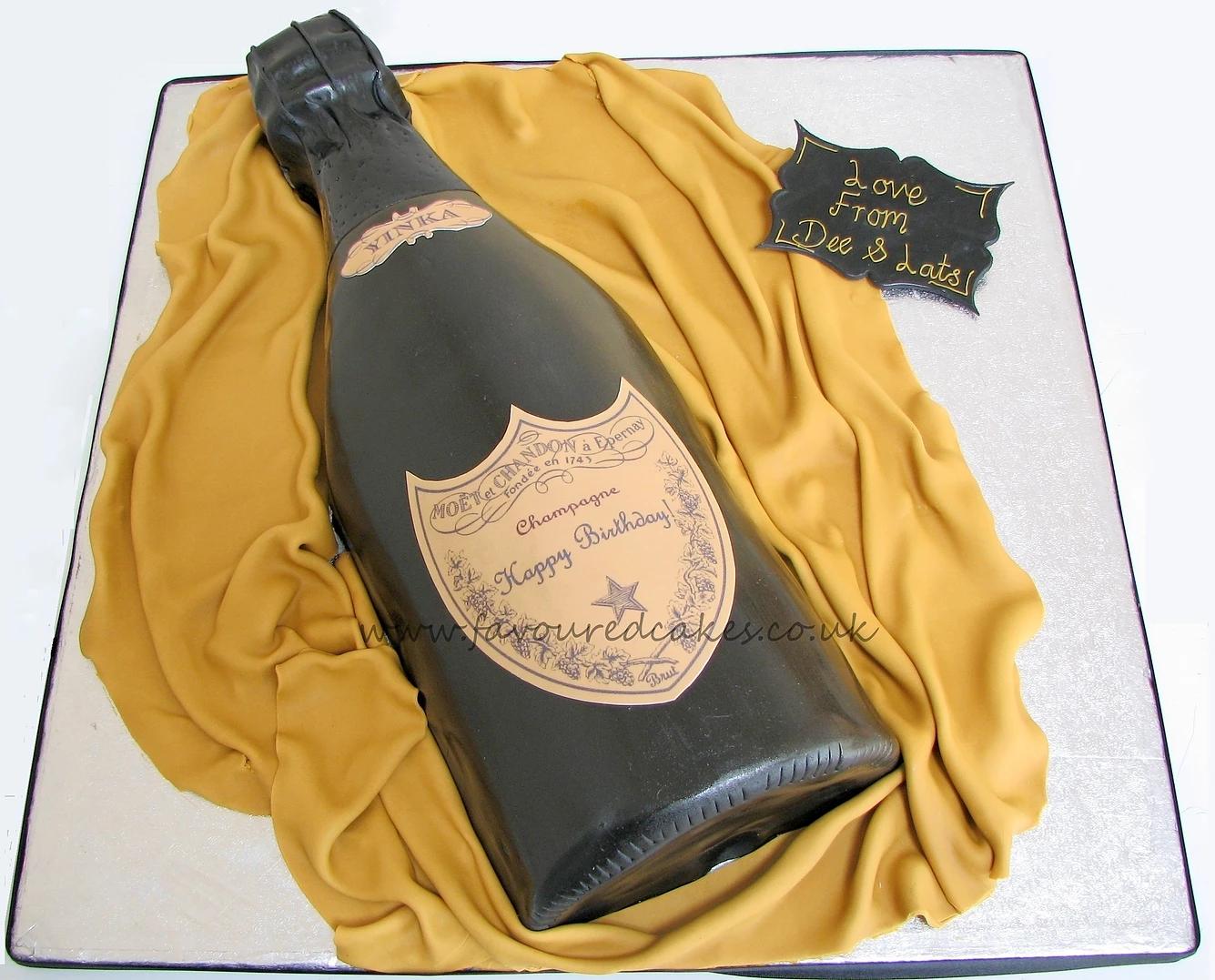 Moet Bottle Cake BC02