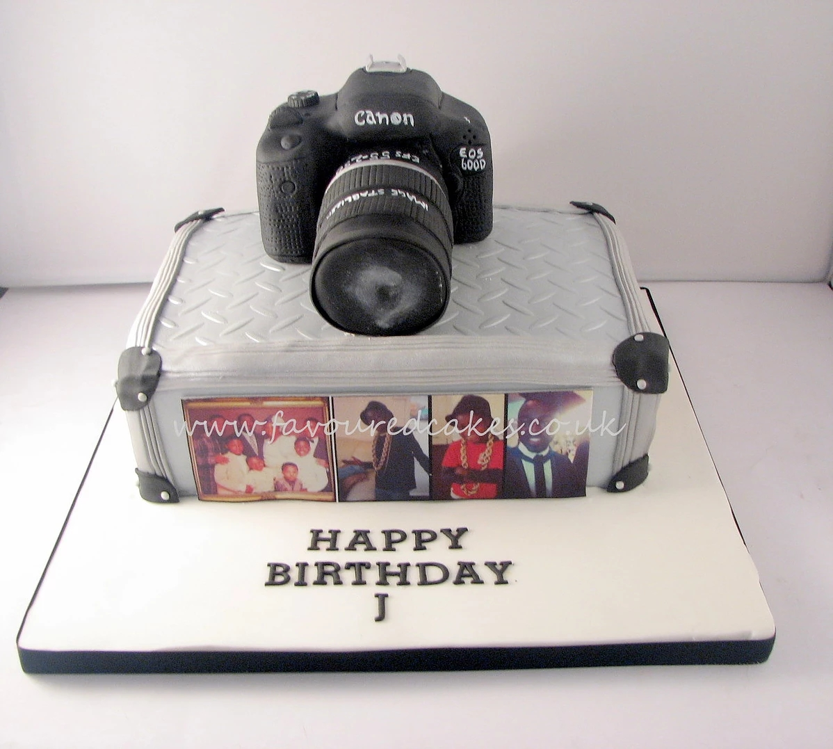 Camera & Camera Box Cake CB01