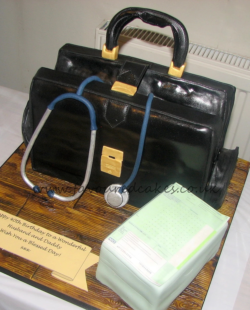 Doctors Bag Cake DBC01