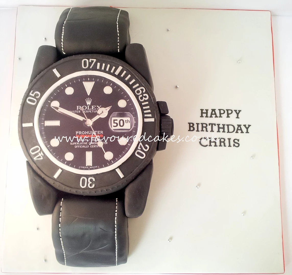Rolex Watch Cake WC02