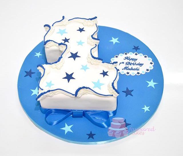 Number 1 Star Cake NC02