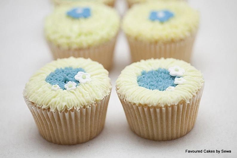 Mini Blossom Cupcakes