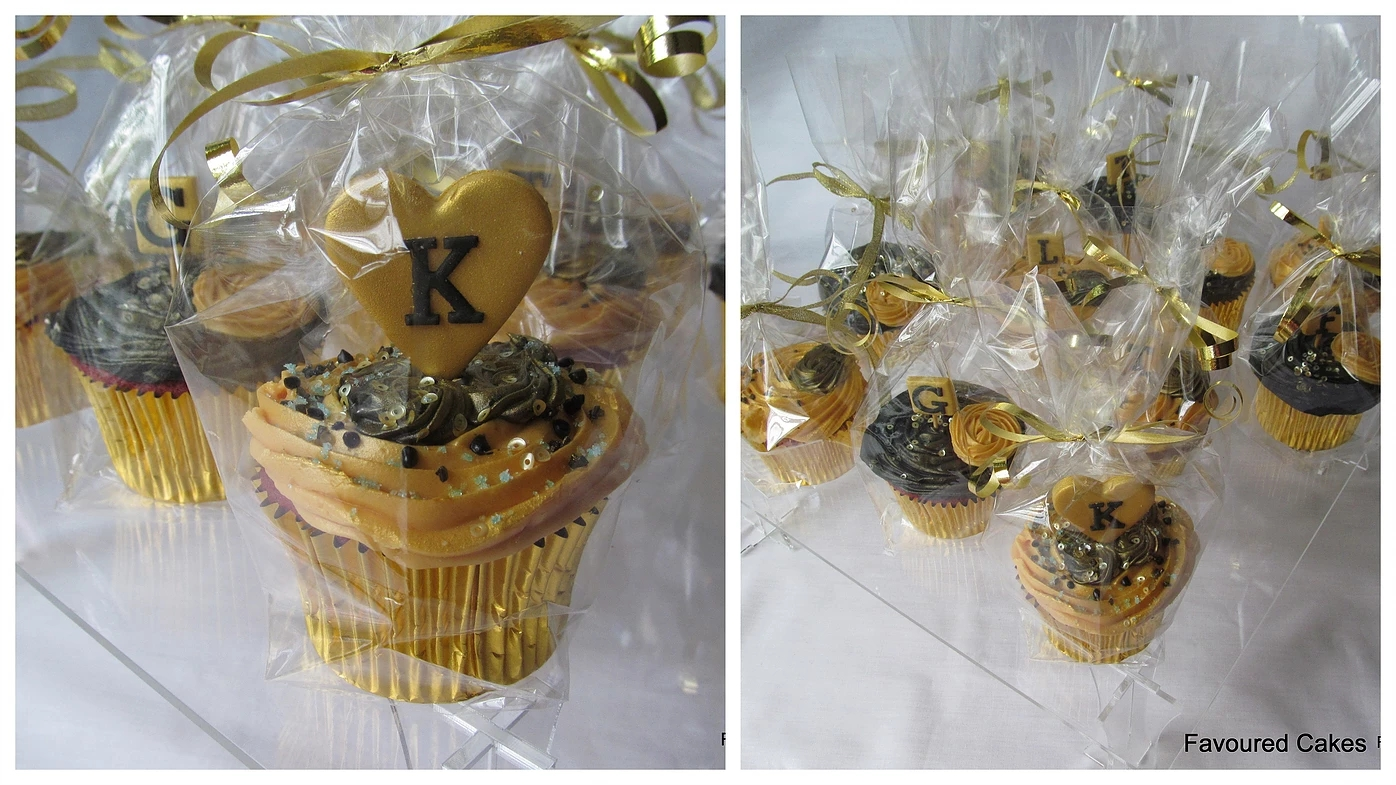 Gift Wrapped Cupcakes