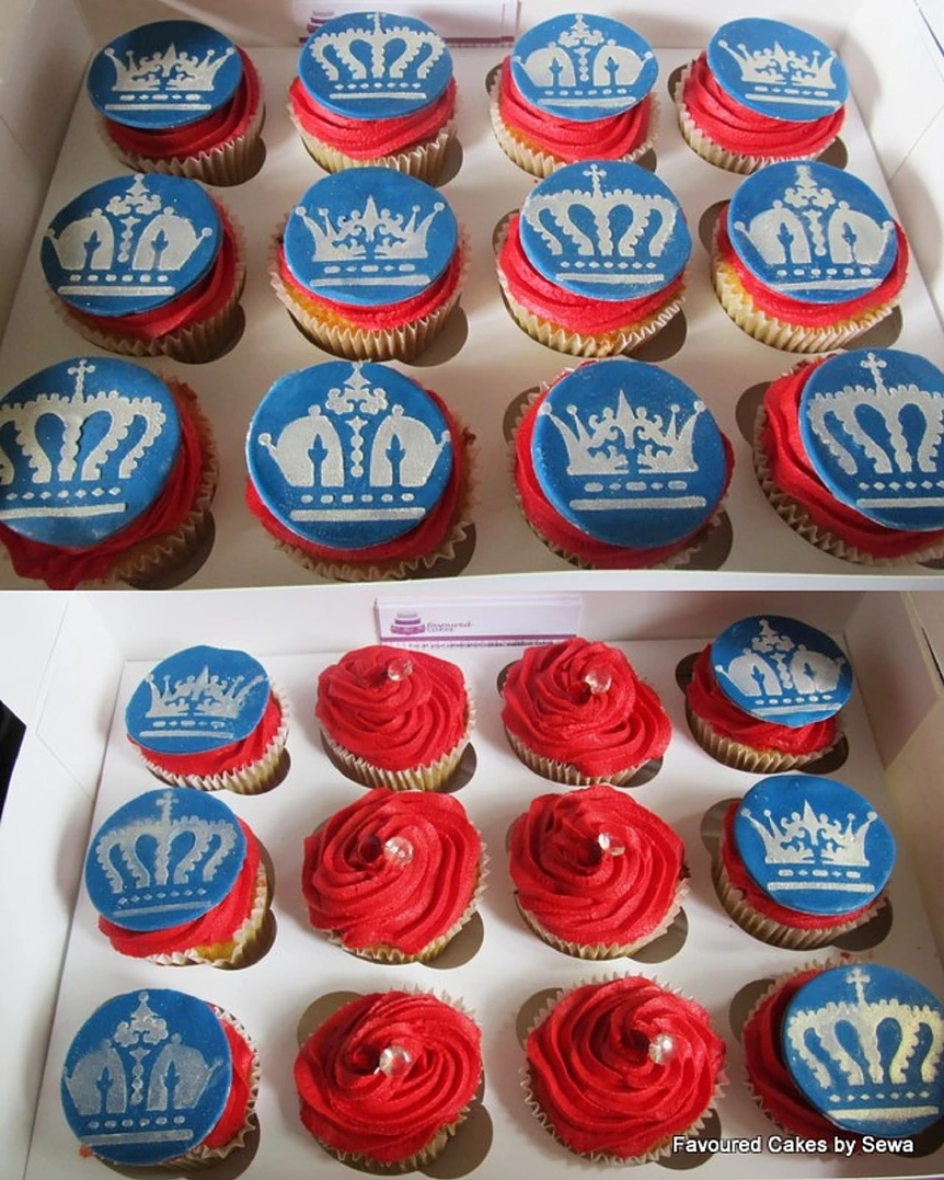 Queens Diamond Jubilee Cupcakes