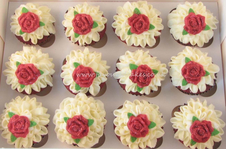 Frills & Roses Cupcakes