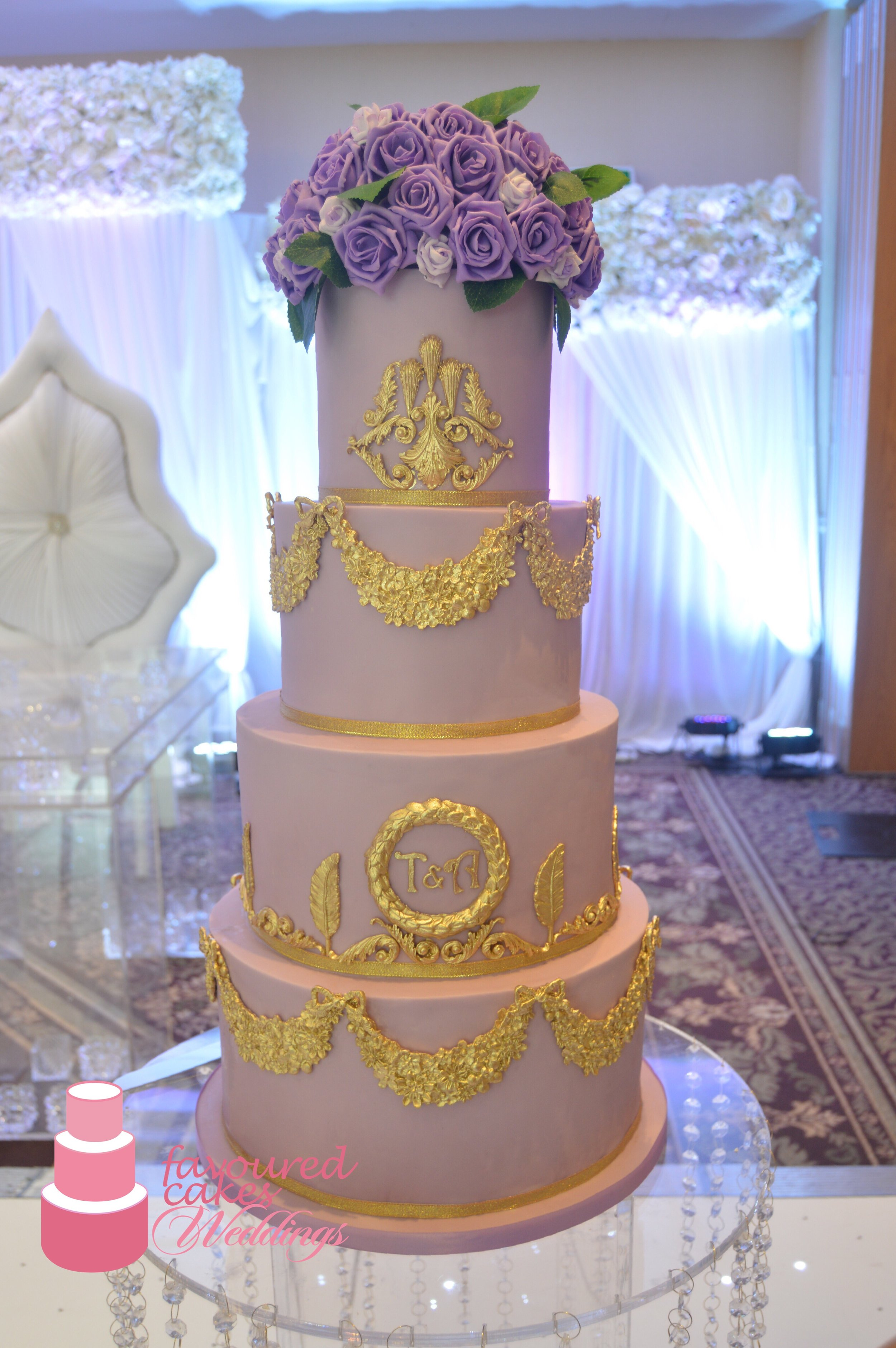 Lilah Wedding Cake