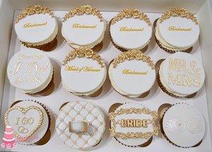 Bridal Party Cupcakes
