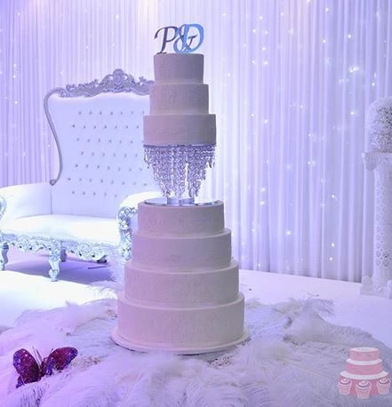 Chandelle Wedding Cake
