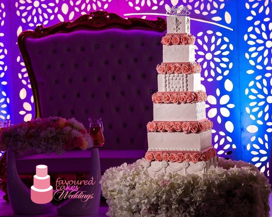 Rozina Wedding Cake