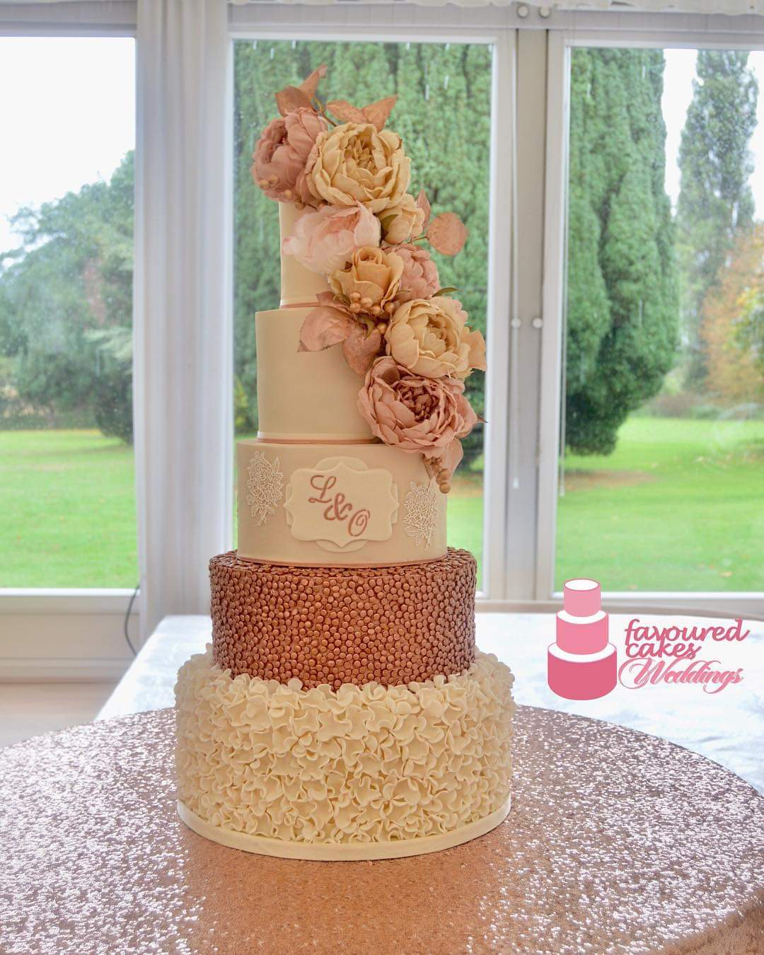 Annarose Wedding Cake