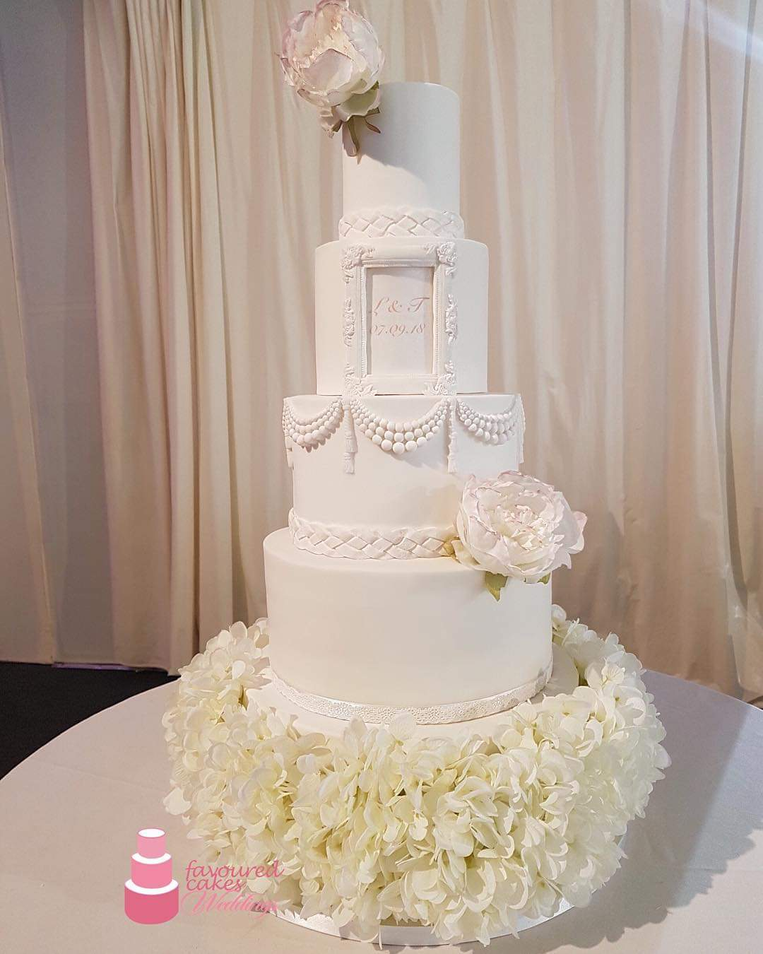 Whitney Wedding Cake