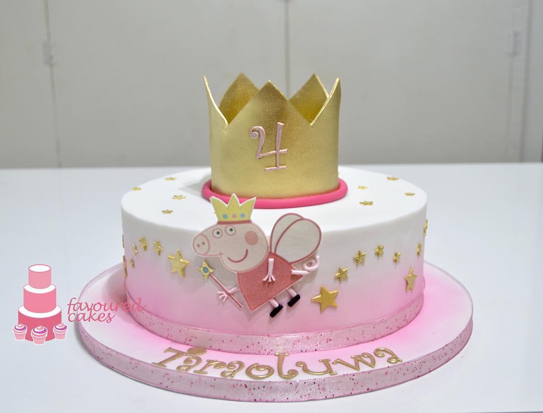 Peppa Fairy Cake